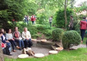 Gartenbesucher aus Österreich
