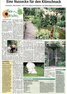 Ganz lieben Dank an Ute Bautsch- Ludolfs für diesen netten Bericht in der Allgemeinen Zeitung Uelzen im Juli 2010